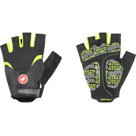 Castelli Arenberg Gel Gloves Men black/yellow fluo